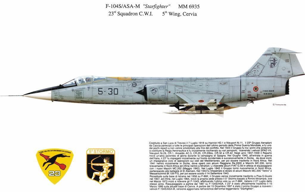 F-104ASA-M Starfighter
