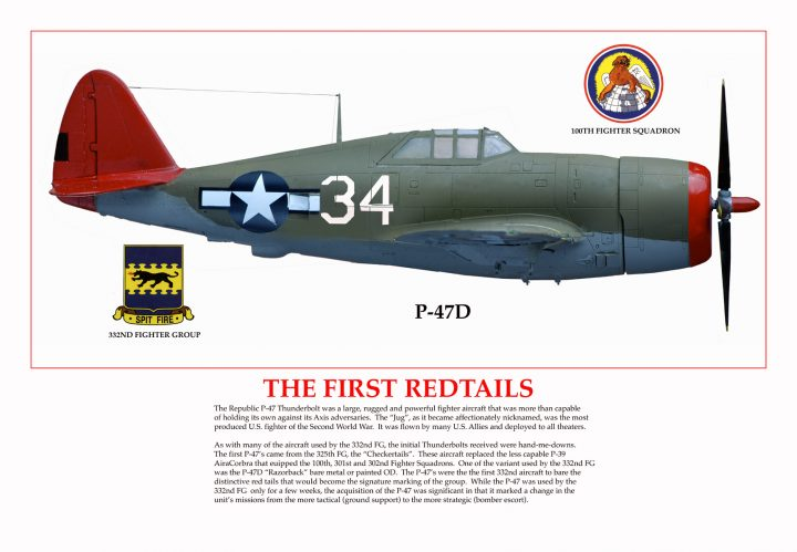 P-47D Tuskegee Airmen