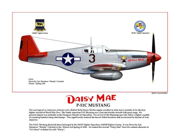P-51C Tuskegee Airmen