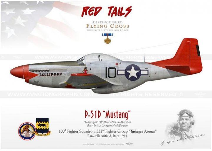 P-51D Tuskegee Airmen